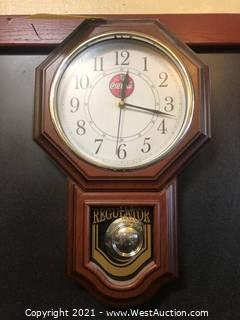 Coca-Cola Grandfather Clock