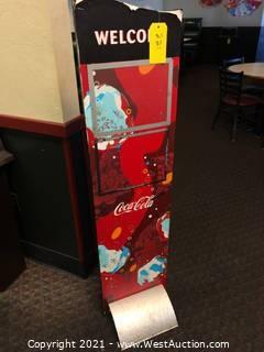 Coca-cola Sign Stand