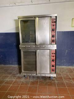 Double Deck Full-Size Convection Oven