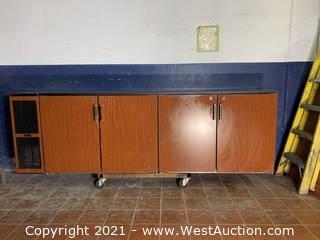 Perlick Solid Door Back Bar Refrigerator