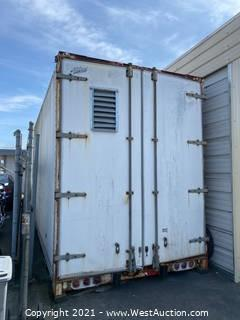 Alloy 30' Trailer Box