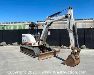 Bobcat G-Series 341Compact Excavator