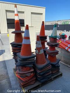 Pallet Of (45+) Traffic Cones