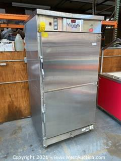 Commercial Mobile Heated Cabinet