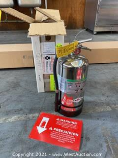 Amerex 6 Liter Wet Chemical Fire Extinguisher