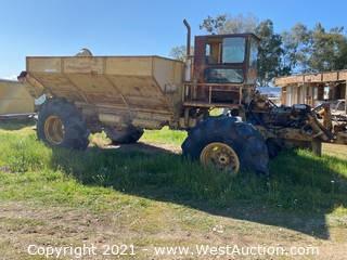 Articulating Dump Truck Tractor