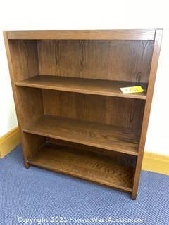 """Wooden Book Shelf 36""""x13""""x43"""""""