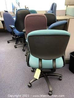 (8) Rolling Office Chairs - Assorted