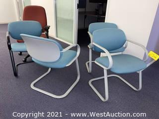 (5) Office Chairs