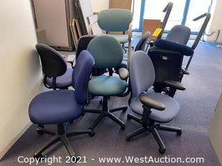 (10) Chairs - Assorted