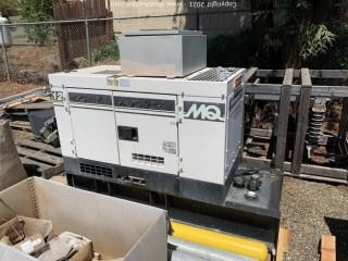 MQ Whisperwatt 12kW Diesel Powered AC Generator (Located in Mariposa, CA)