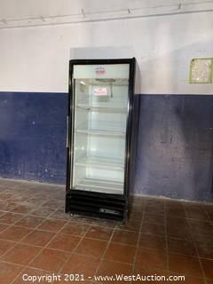 True GDM-12 Glass Door Merchandiser Refrigerator