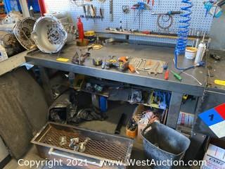 """Steel Work Bench 70"""" L"""