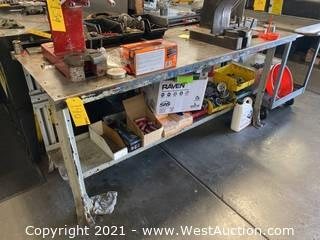 Steel Work Bench 6'