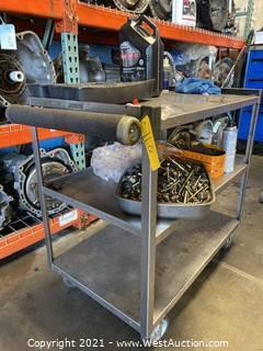 Metal Shop Cart