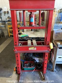 Detroit Power Hydraulic Press - 20 Ton