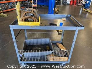 Metal Shop Cart 2'x3'