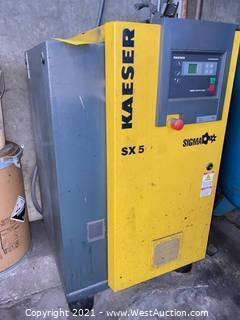 Kaeser SX5 Sigma Compressor