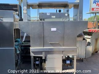 Hobart Conveyor Commercial Dishwasher