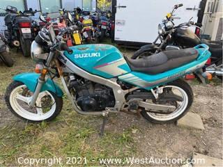 1991 Suzuki GS 500 E