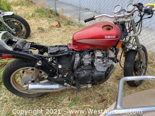 1988 Yamaha Vision 600