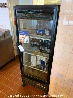 True Reach-In Single Door Refrigerator