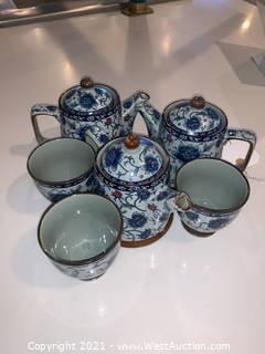 (3) Tea Cup Set