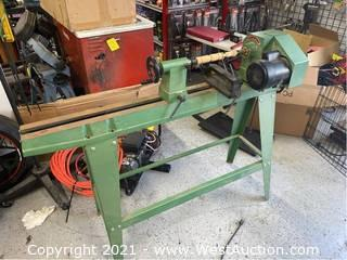 Wood Lathe with Reverse Head 12 x 36