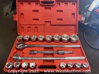 21pc Socket Wrench Set 19-50mm