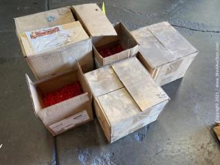 (5) Boxes Of Caplugs (Plastic Plugs)