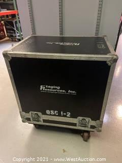 Road Case for Pair QSC HPR122i Speakers