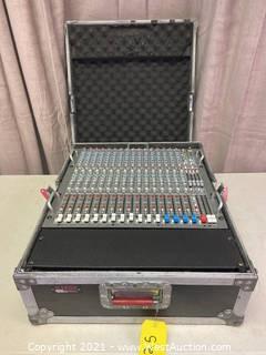 Crest Audio XR-20 Analog Mixer In Road Case