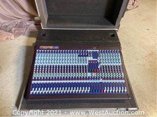 Midas Venice 320 Analog Mixer In Road Case