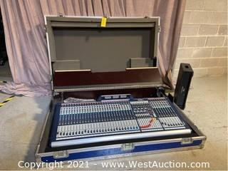Soundcraft GB8 Analog Mixer In Road Case