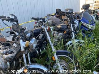 (5) Motorcycles (Parts Only)