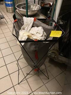 Soiled Rag Basket