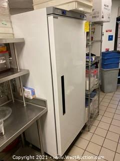Arctic Air AWF25Z Single Door Reach-In Commercial Freezer