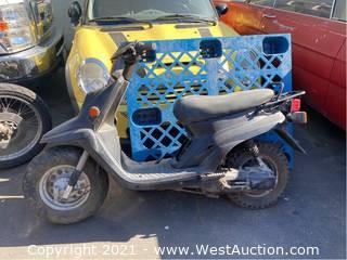 Yamaha Zuma 50 Parts Bike