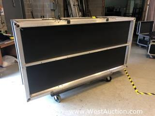 Staging Dimensions Heavy Duty Cart With Caster Wheels