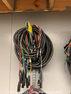 (4) 10' 8 Channel XLR Snakes