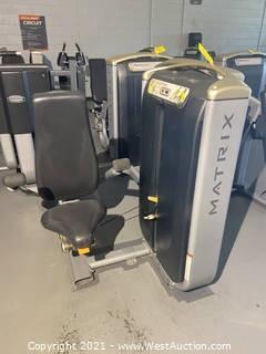 Matrix Tricep Press Machine