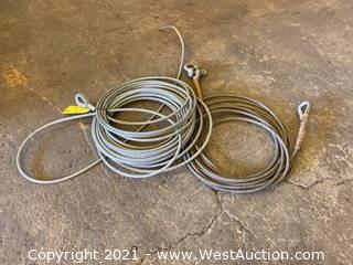 (2) Bundles Of Cable