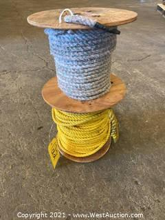 (2) Spools Of Rope