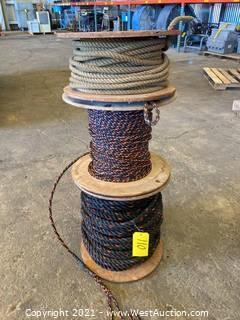 (3) Spools Of Rope