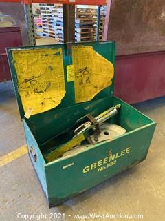 "Greenlee No. 882 Flip-Top Bender For 1-1/4"" Thru 2"""