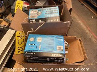 (2) Boxes of Toggled Volts and Electrical Parts