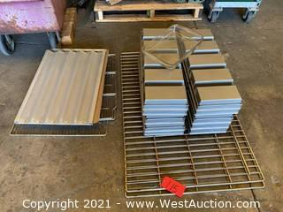Stainless Steel Bread Pans and Trays