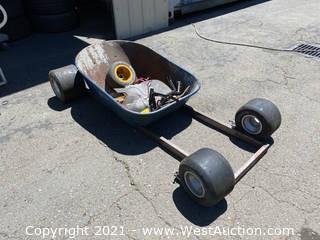 Wheelbarrow Go-Kart Kit (No Motor)
