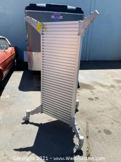 """Heavy Duty Rolling Display Stand 65"""" x 26"""""""