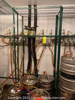 Metal Shelving Rack (Rack ONLY)